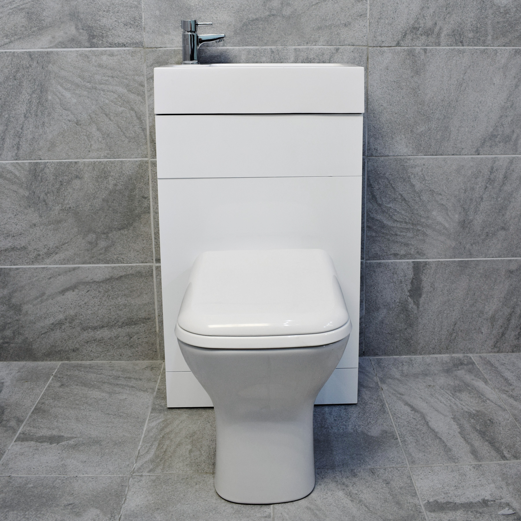 All In One Space Saving Toilet Sink Basin Combination