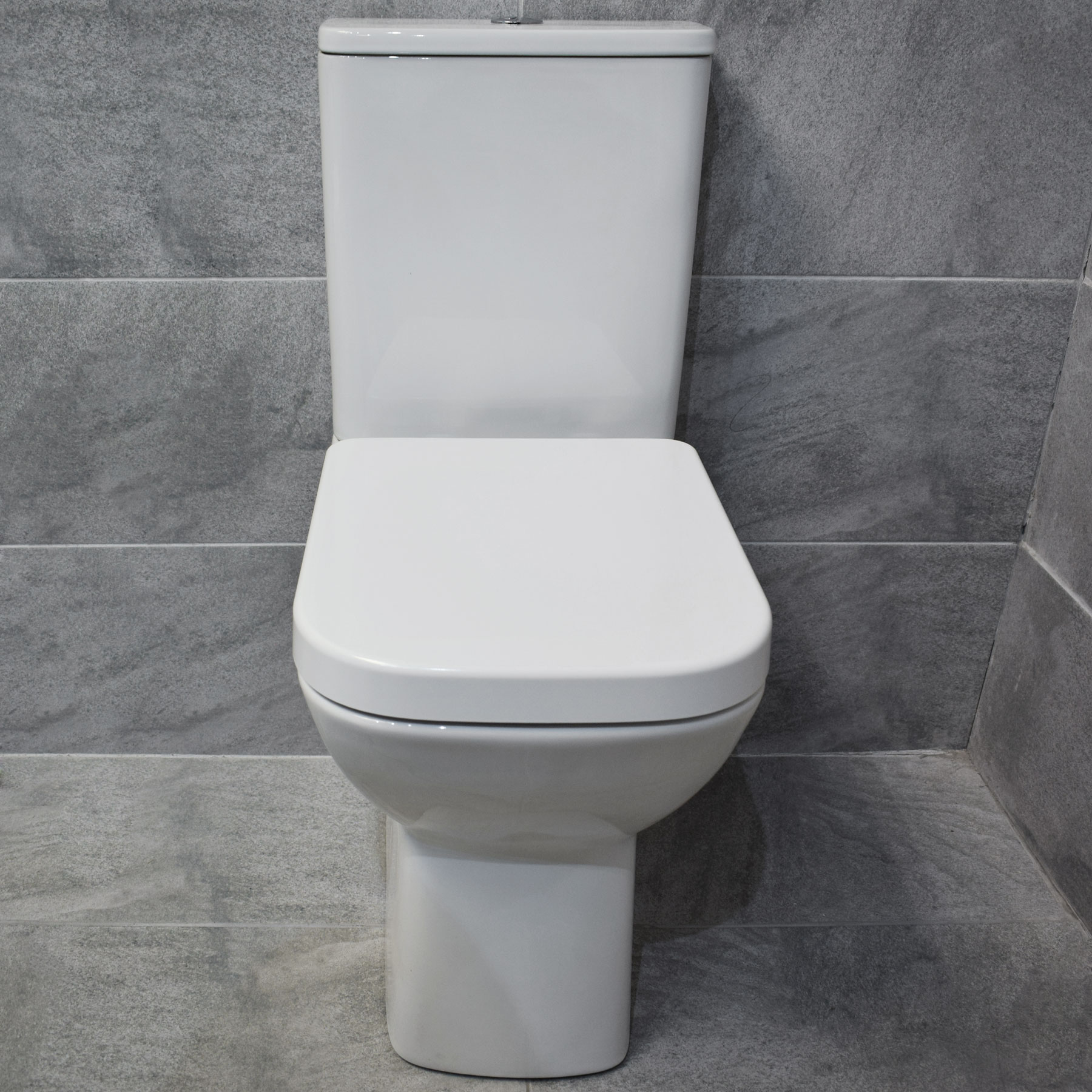 Meghana Comfort Height Rimless Toilet Extra Tall Inc Seat