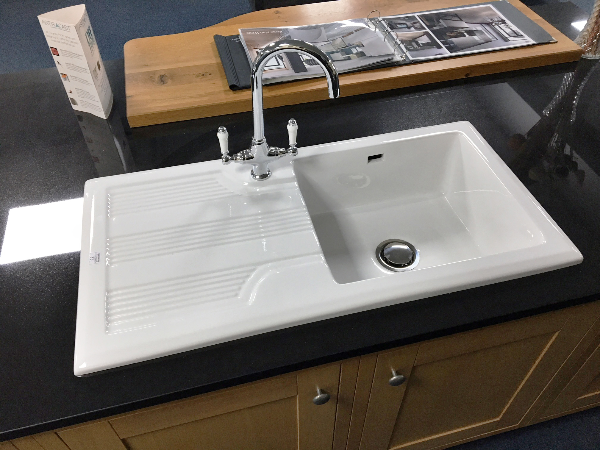Ceramic Single Bowl Kitchen Sink By Rak 20 Year Guarantee