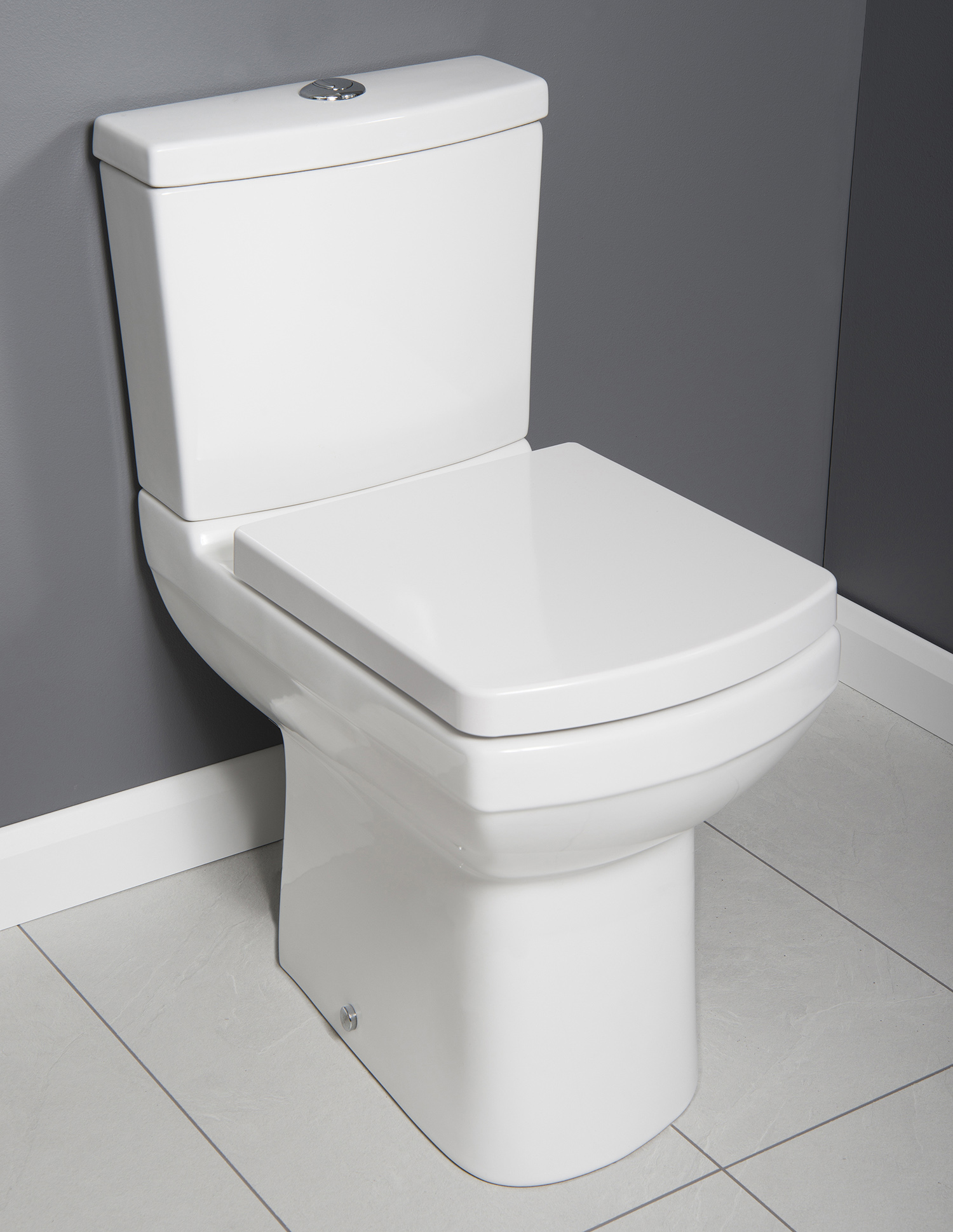 Meryl Comfort Height Toilet Extra Tall Including Soft