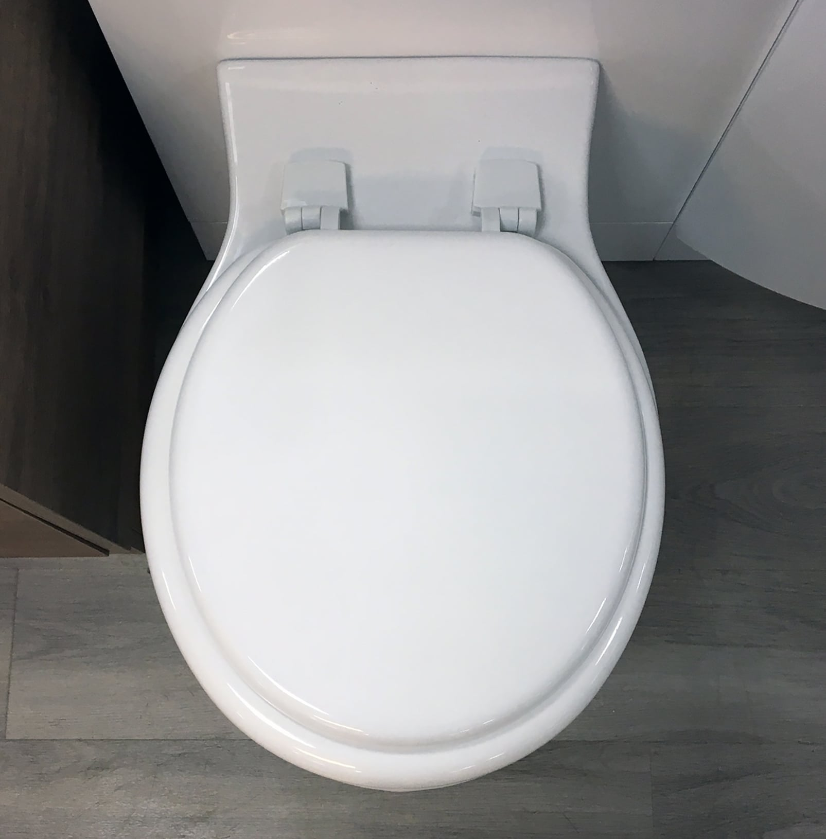 Details About Stafford Standard White Moulded Wood Toilet Seat
