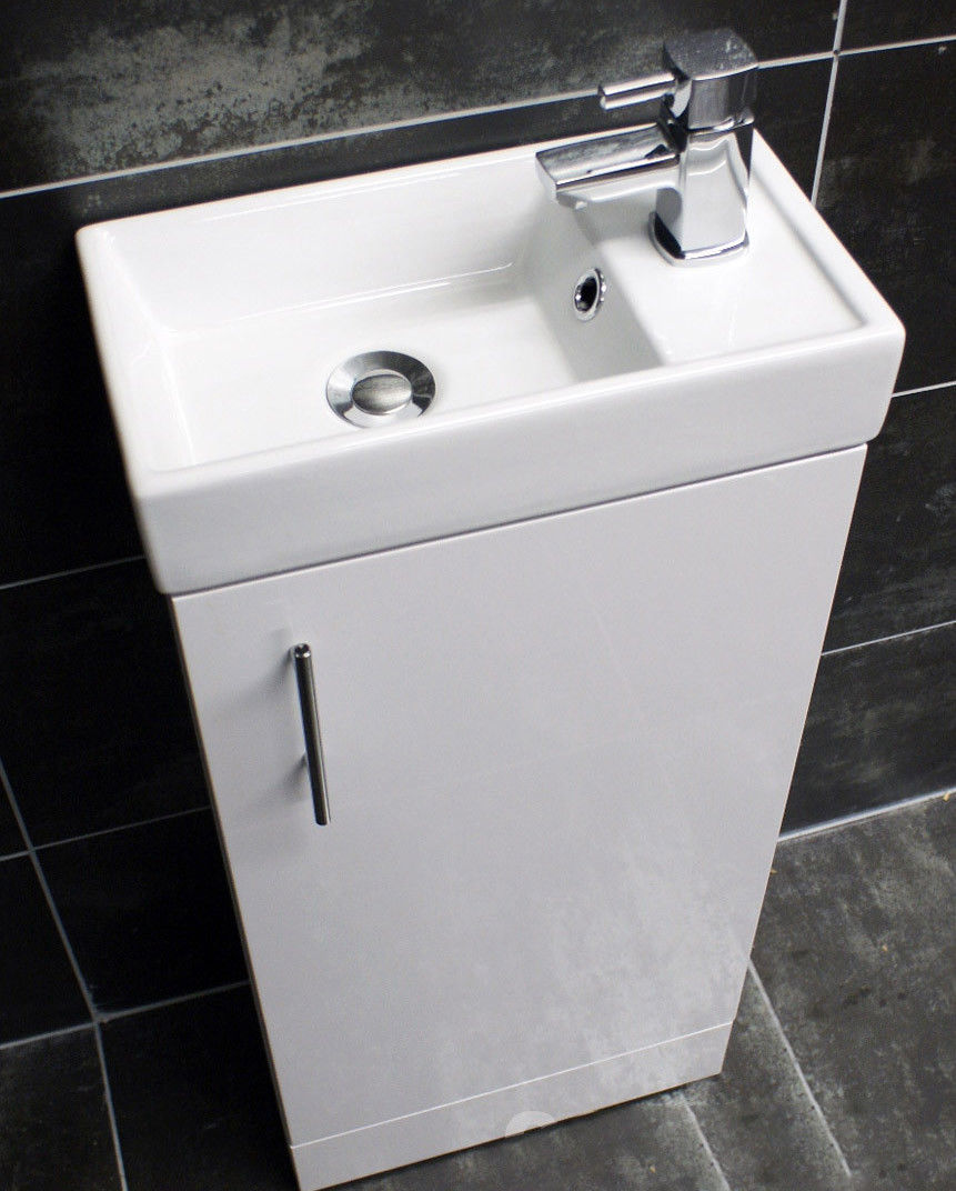 bathroom sink and toilet units 400mm square bathroom vanity basin sink unit with tap 22304