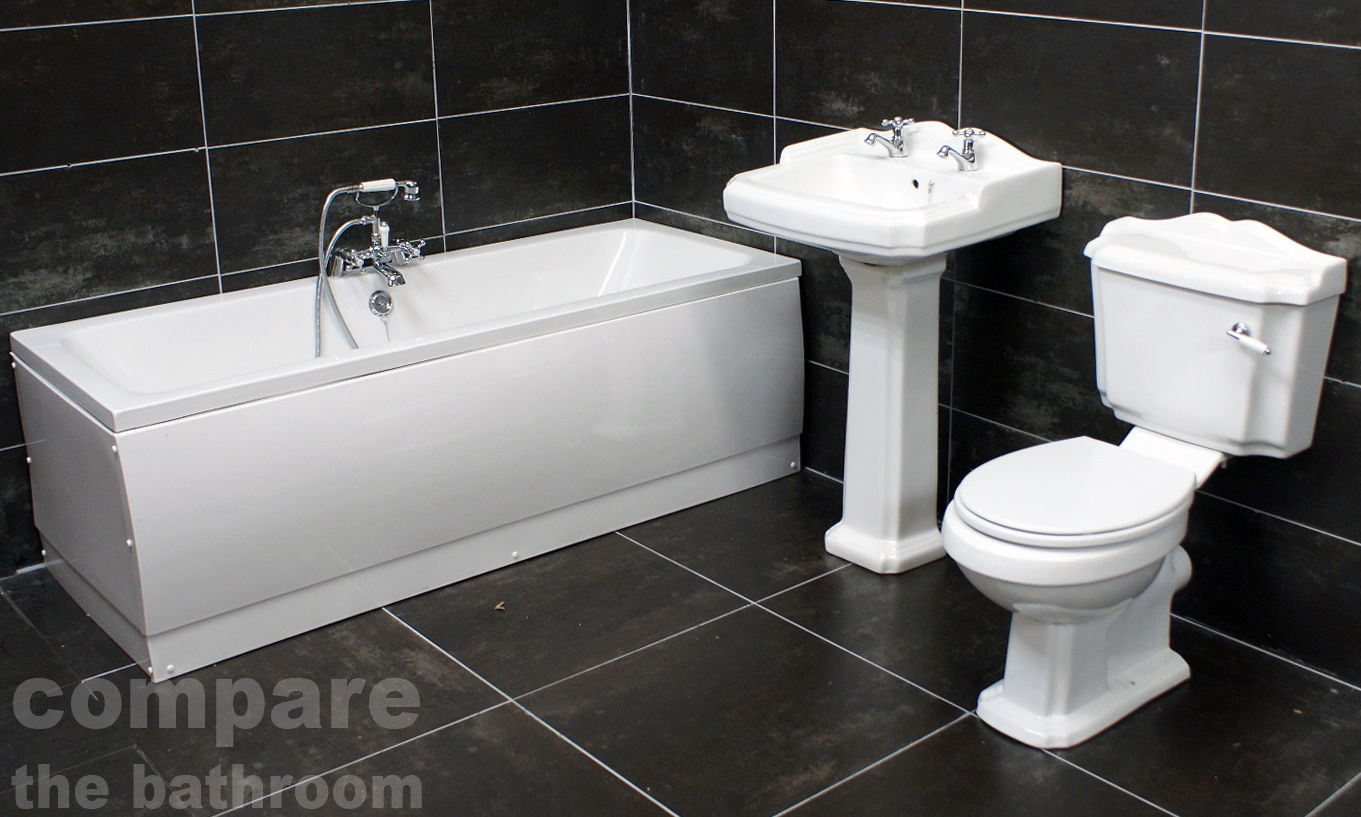 Legend Traditional Bathroom Suite At Victorian Plumbing Uk: Legend-Victorian-Traditional-Style-Double-Ended-Bathroom