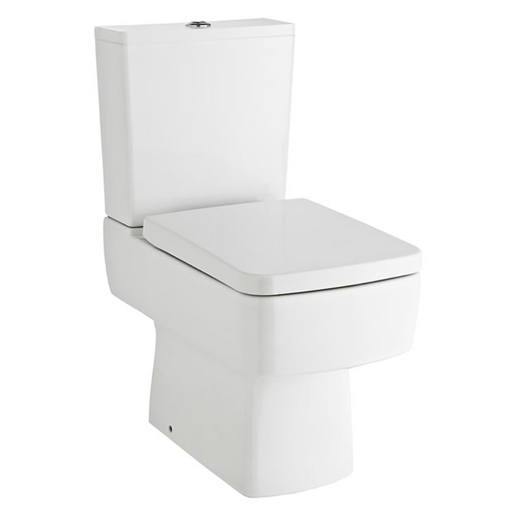 Quinn Square Style Toilet Wc Close Coupled Pan Amp Cistern