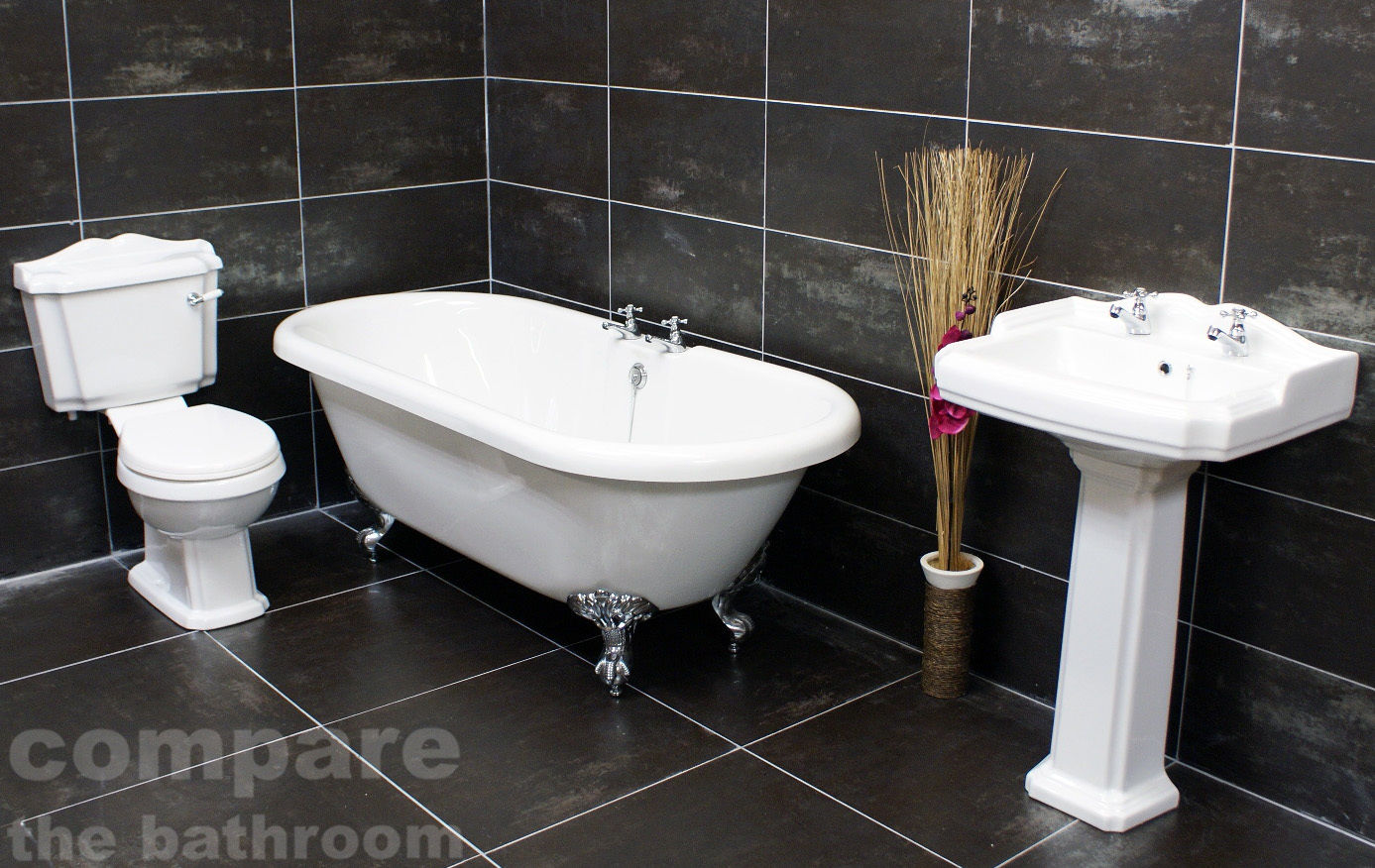 Legend Traditional Bathroom Suite At Victorian Plumbing Uk: Traditional Classic Victorian Roll Top Freestanding