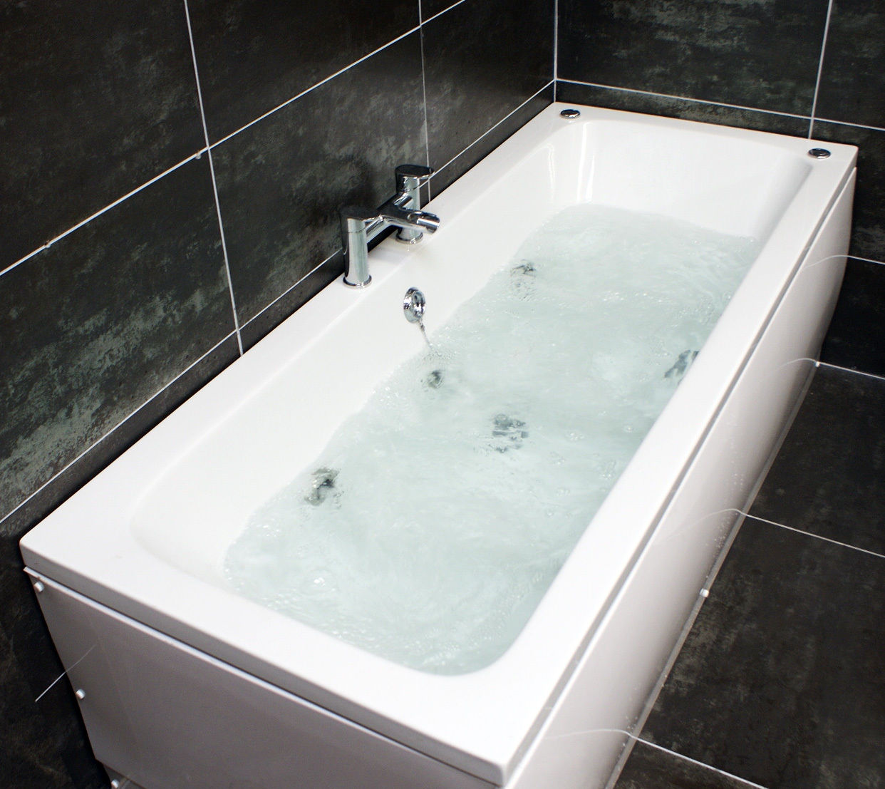 Jenny Double Ended Whirlpool Bath 6 Jet Jacuzzi Type Spa 1700 x ...