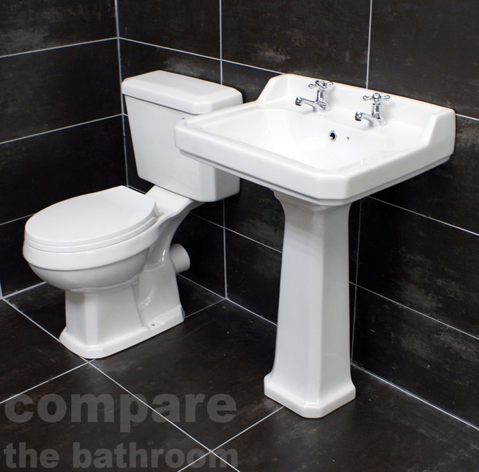 Carlton Traditional Victorian Basin Sink Ricmond Toilet