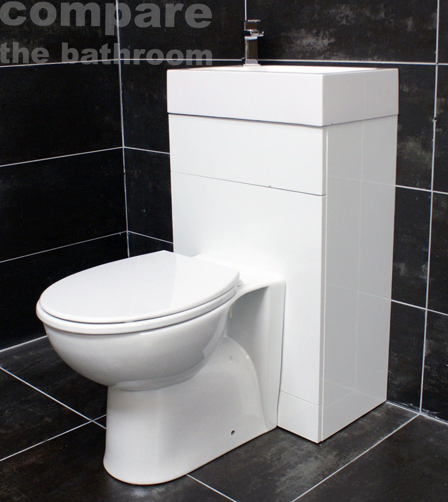 All In One Space Saving Toilet + Sink Basin Combination Unit ...