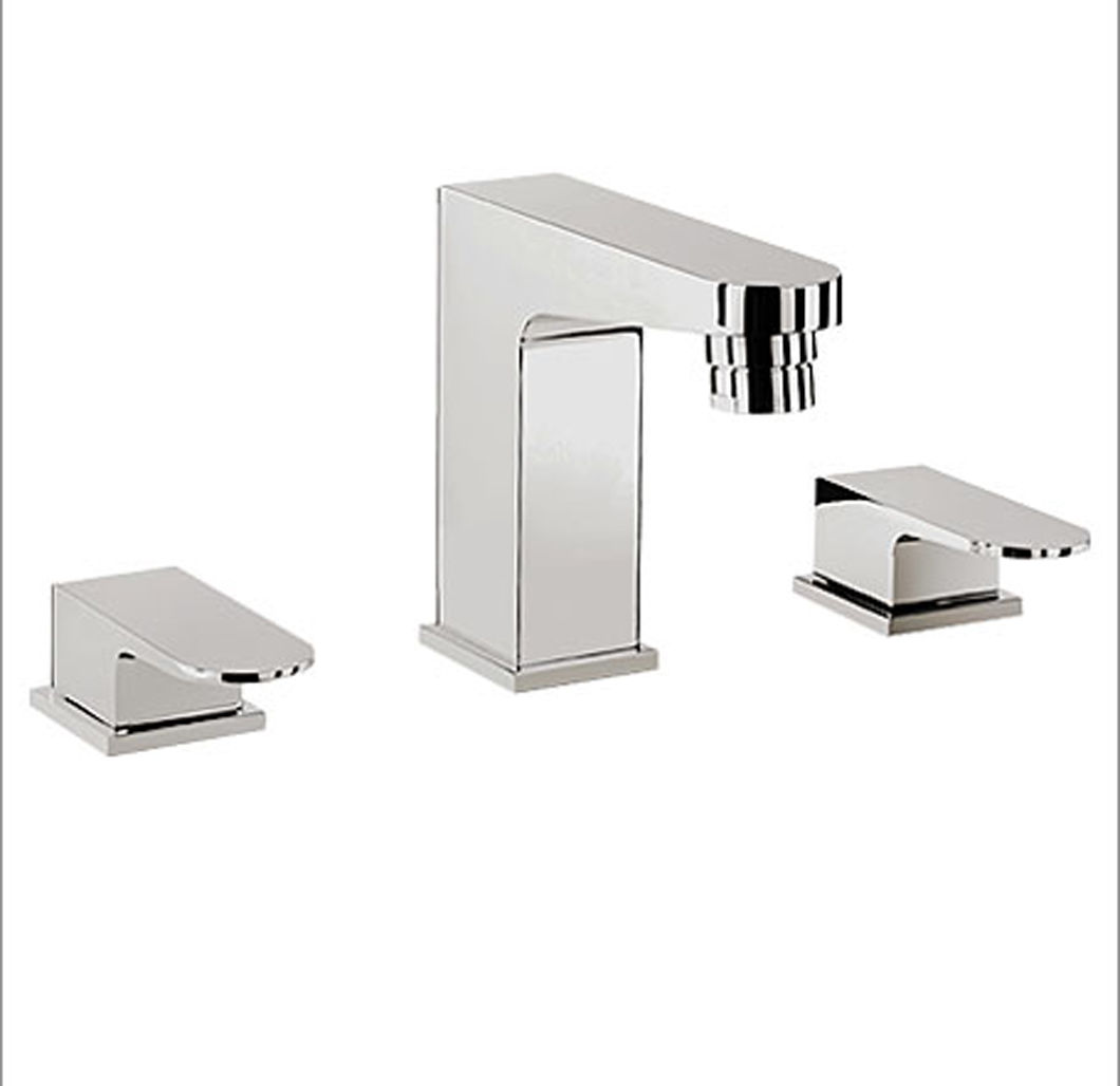 Crosswater Modest 3 Tap Hole Bath Filler & Basin Mixer Set | eBay